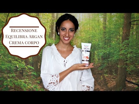 Crema corpo fluida Argan Equilibra Review