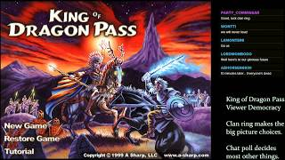 LGWI Live! - King of Dragon Pass, Clan Trash Fire, Session 1