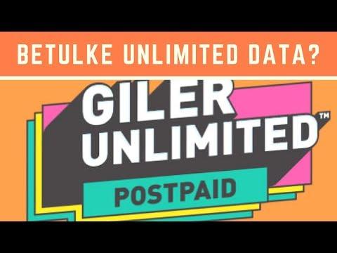Betul Ke U Mobile GX50 Dan GX30 Unlimited Data?