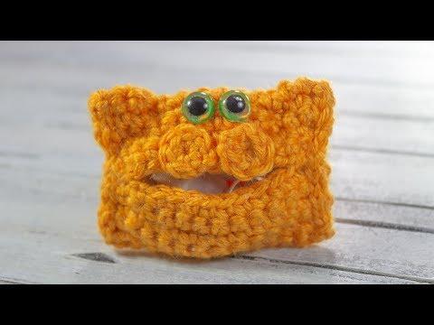 Crochet Tutorial Case Cat Headphones 🐈🐈