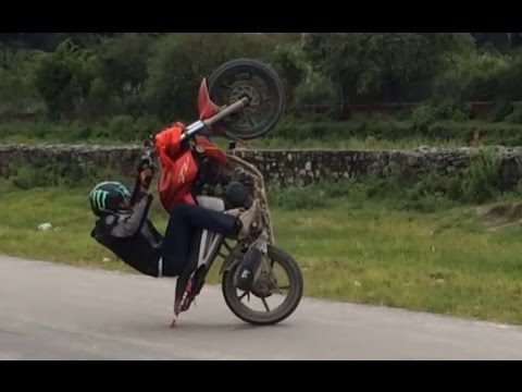 New Bike stunt video (dr. hayu) 2016
