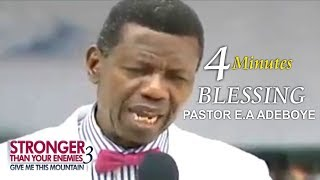 Pastor EA Adeboye 4Minutes Prayer Of Blessing  RCCG March 2018 THANKSGIVING SERVICE
