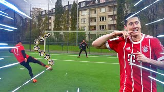 LEWANDOWSKI FUßBALL CHALLENGE | BROTATOS