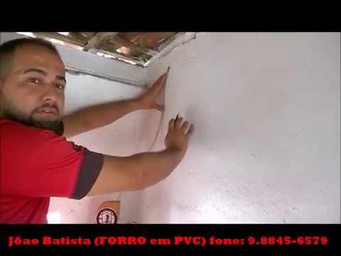 Como colocar forro de PVC Fácil! forro PVC, como instalar parte 2