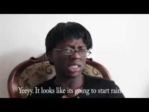 Afrikaans households vs black households when its raining