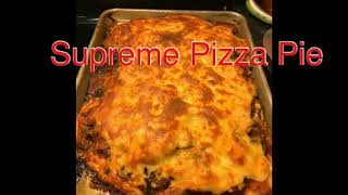 Pepperoni and Supreme Pizza Pie: Homemade Food Porn From Scratch