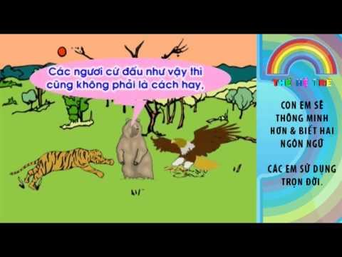 Truyện Cổ Tích - Đại Bàng Và Cọp - Vietnamese Folk Tale Stories - TheHeTreTV.com