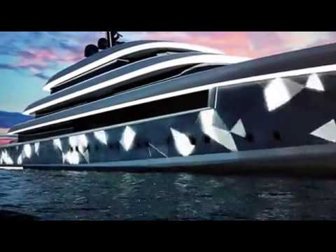 Oceanco Unveil New Moonstone 90m Super Yacht Concept Video