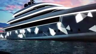 Oceanco unveil new Moonstone 90m super-yacht concept video