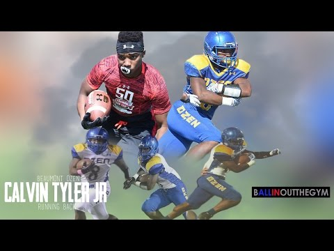 Calvin Tyler Jr Is Highly Underrated : (2015 Junior Football Highlights)