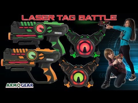 ArmoGear Laser Battle: The Ultimate Laser Tag Game
