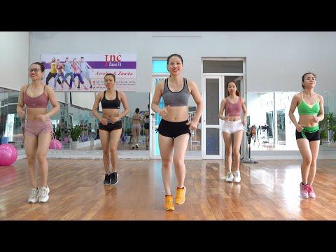 Cách ĐƠN GIẢN để GIẢM BÉO BỤNG nhanh nhất  - Bài Tập Aerobic 25 Phút | Inc Dance Fit