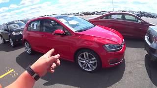 "💛ENCONTREI O ""GOLF DIESEL""!! 2015 VW GOLF TDI ""TURBO"" SEL 2.OL 4CIL 16V 150HP. PREÇO USADO NOS EUA!"