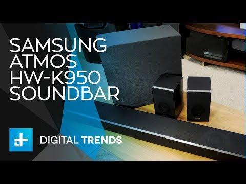 Samsung Atmos HW-K950 Soundbar - Hands On Review