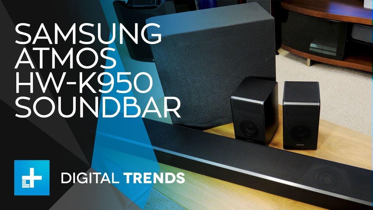 - Hw-k950 On Soundbar Review Hands Samsung Atmos