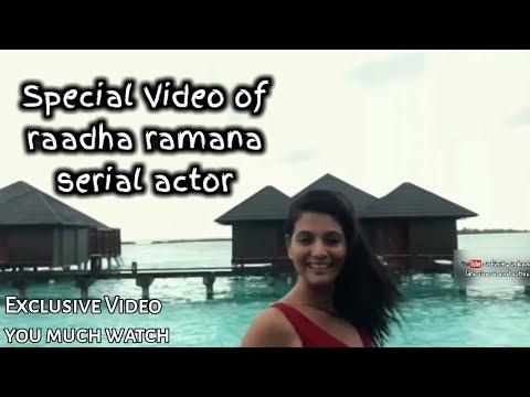 Special Video of radha ramana serial actor | EVERY RADHA RAMANA FAN'S MUST WATCH - IIK