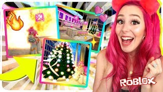 REACTING TO THE *BRAND NEW* ROYALE HIGH UPDATE! New Apartments + Dress Up! Roblox Royale High Update