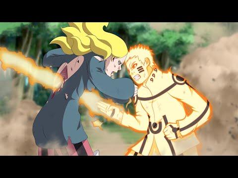 Наруто показал божественную силу Дельте в аниме Боруто l Боруто 198 и 198 серия
