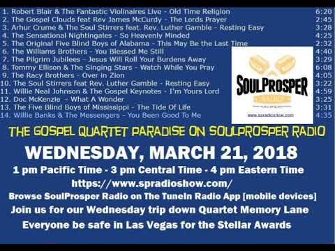 3 21 18 Gospel Quartet Paradise   KSPR