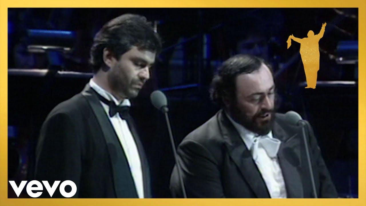 Luciano Pavarotti, Andrea Bocelli - Notte 'e piscatore (Live)