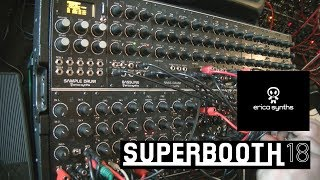 Erica Synth Techno System: все что нужно для hard techno! (Superbooth 2018)