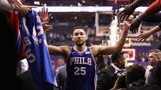 BEN SIMMONS MIX RAGS TO RICHES
