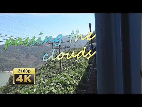 Crossing the Ocean Cloud Pass by train from Hue to Da Nang - Vietnam 4K Travel Channel