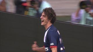 Goal Adrien RABIOT (90' 1) - Paris Saint-Germain - EA Guingamp (2-0) - 2013/2014