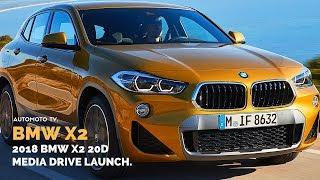 2018 BMW X2 xDrive20d M Sport X, Galvanic Gold   International Media Launch in Lisbon, Portugal.