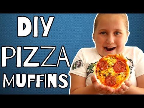 Download Youtube: PIZZA MUFFIN RECIPE