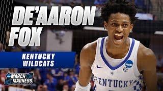 March Madness Highlights: Kentucky's De'Aaron Fox