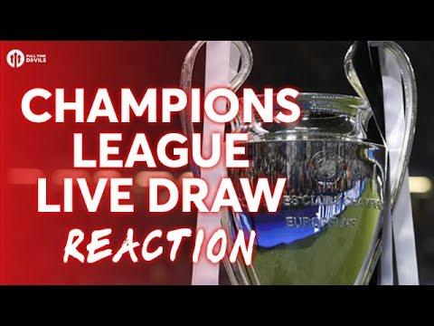 UEFA CHAMPIONS LEAGUE DRAW LIVE REACTION