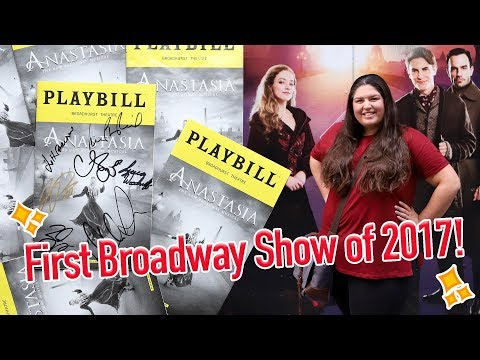 Anastasia the Musical (Broadway) 💜 VLOG/STAGE DOOR/REVIEW
