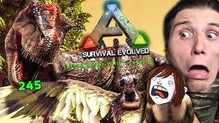Zwei T-REX greifen unsere Basis an! ☆ ARK: Survival Evolved #35