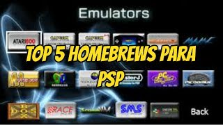Top 5 Homebrews para PSP