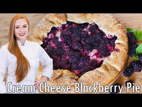 Blackberry And Cream Cheese Pie