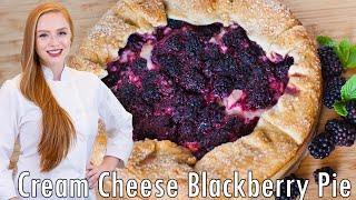 Blackberry And Cream Cheese Pie