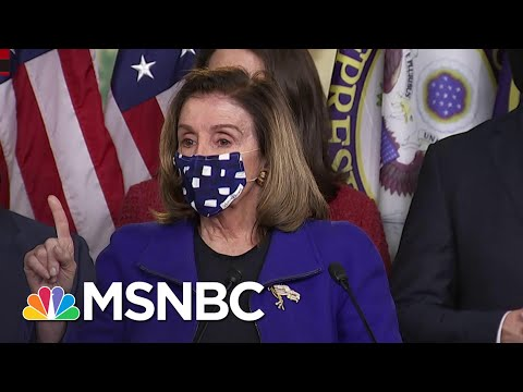 Pelosi: 'Cowardly Group of Republicans' Allowed Trump's Acquittal | MSNBC