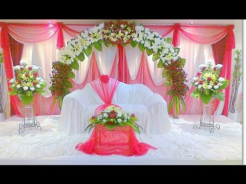 Elegant Wedding Stage Decoration Youtube