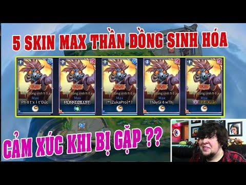 UTS Channels | Cảm Xúc Team Địch Khi Gặp 5 Skin MAX Thần Đồng Sinh Hóa ? | MAX Giàu