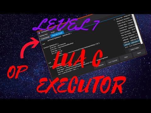 New 2019 Working Roblox Exploit Level 7 Executor Free