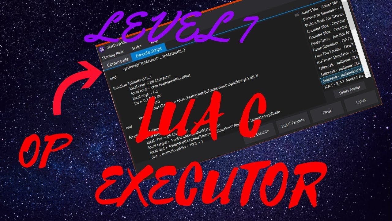 New 2019 Working Roblox Exploit Level 7 Executor Free