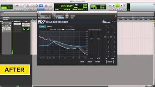 Remove Noise from Dialogue / Vocals with iZotope RX® 3