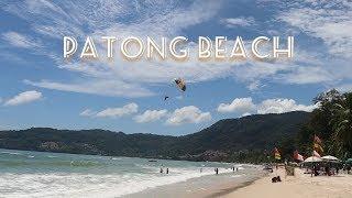 Patong Beach and Bangla Walking Street, Phuket Thailand