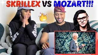 "Epic Rap Battles of History ""Mozart vs Skrillex"" REACTION!!!!"
