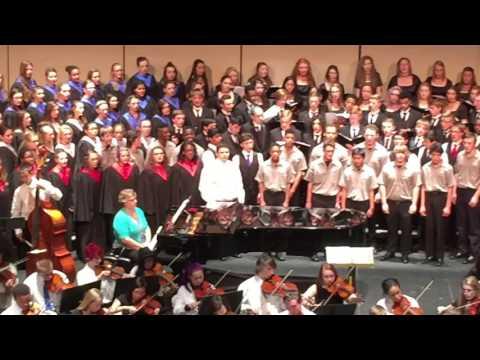 PCEP Choir & Orchestra Concert   Wes Solo Violin