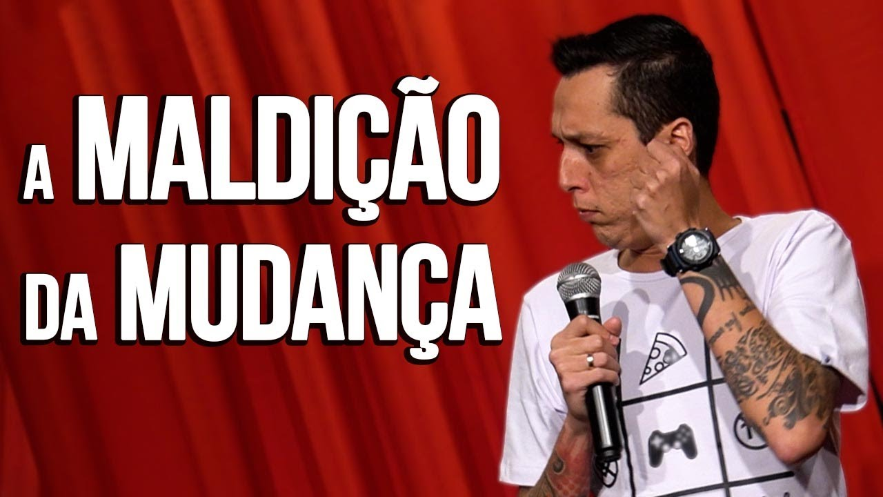 ESTOU DE MUDANÇA - NIL AGRA - STAND UP COMEDY