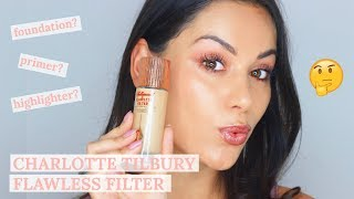 WORTH THE HYPE?! CHARLOTTE TILBURY HOLLYWOOD FLAWLESS FILTER | Beauty's Big Sister
