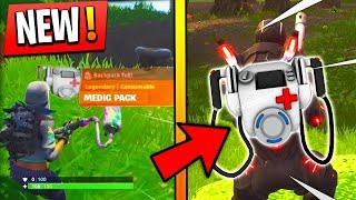 NEW OBJET CHEAT MEDIC AND INTEL PACK ON FORTNITE BATTLE ROYALE!