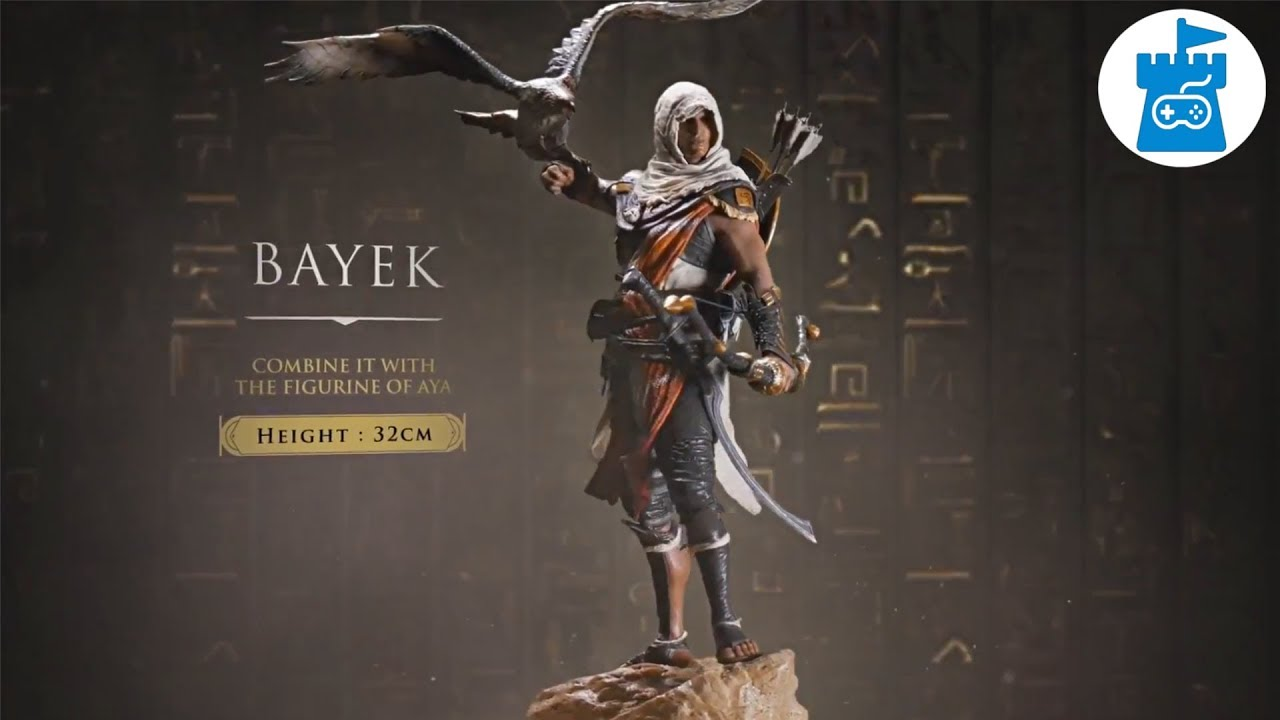 Assassin S Creed Origins Figurines Trailer Youtube
